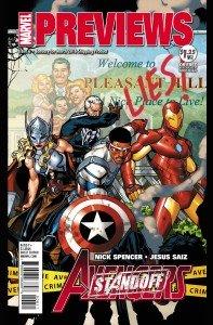 Marvel Previews Jan 2016